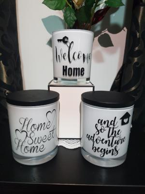 New Home Collection - Soy Wax Candles - Amber Grove