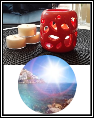 Amber Grove - Scented Soy Wax Tealight Candle - Amalfi Coast