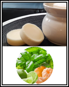Amber Grove - Scented Soy Wax Melts - Basil, Lime & Mandarin Fragrance