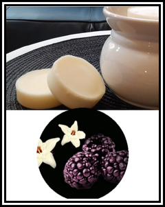 Amber Grove - Scented Soy Wax Melts - Black Raspberry & Vanilla Fragrance