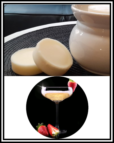 Amber Grove - Scented Soy Wax Melts - Champagne & Strawberries