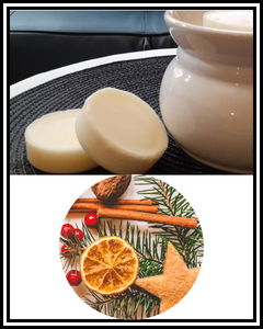 Amber Grove - Scented Soy Wax Melts - Cinnamon Orange Fragrance