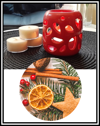 Scented Soy Wax Tealight Candle - Cinnamon Orange