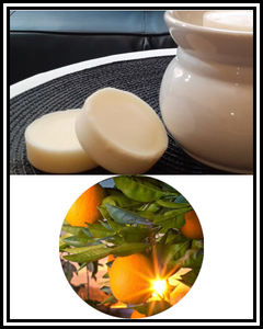 Amber Grove - Scented Soy Wax Wax Melts - Citrus Sunrise Fragrance