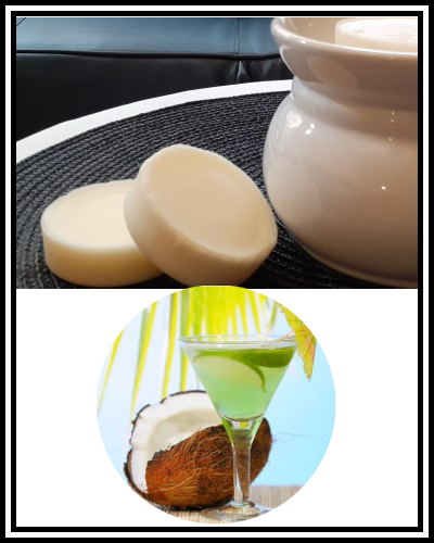 Amber Grove - Scented Soy Wax Melts - Coconut Lime Fragrance
