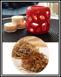 Amber Grove - Scented Soy Wax Tealight Candle - Dry Tobacco & Hay