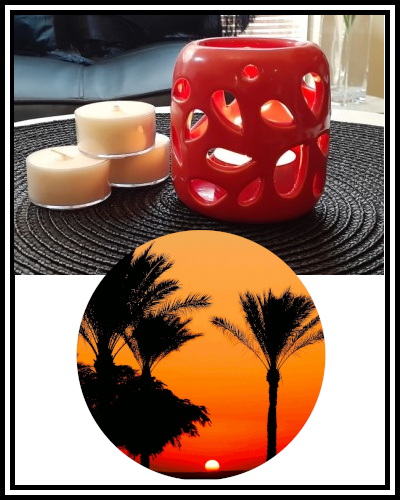 Amber Grove - Scented Soy Wax Tealight Candle - Egyptian Oasis