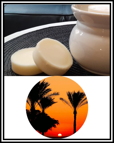 Amber Grove - Scented Soy Wax Candle - Egyptian Oasis Fragrance