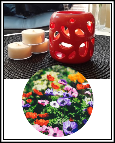 Amber Grove - Scented Soy Wax Tealight Candle - Floral Whispers