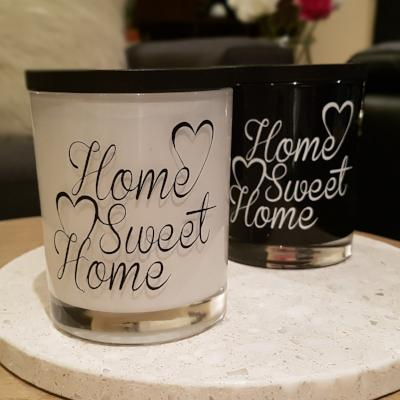 Soy wax Candle - New Home - Home Sweet Home - Amber Grove