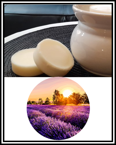 Amber Grove - Scented Soy Wax Melts - Lavender Fields Fragrance
