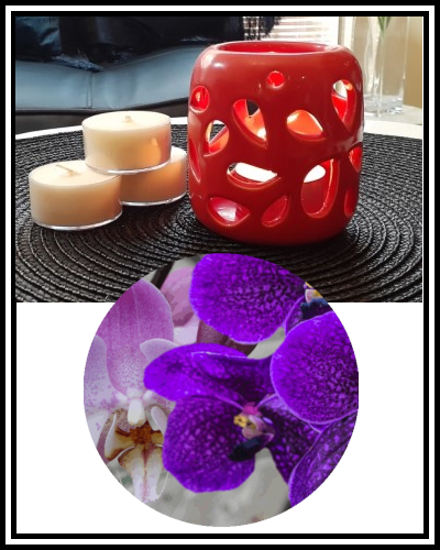 Amber Grove - Soy Wax Tealight Candle - Lilac & Orchid