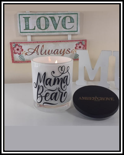Amber Grove - Scented Soy Wax Candles - Mama Bear