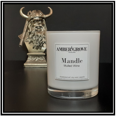 Amber Grove - The Mandle - Soy Wax Candle for Men