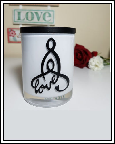 Amber Grove -  Scented Soy Wax Candles - Celtic Mother & Child Symbol