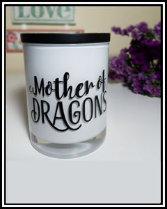 Amber Grove - Scented Soy Wax Candles - Mother of Dragons