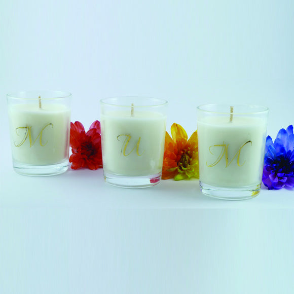 Soy Wax Candles - Mum Gift Pack (3 Votive Candles) - Amber Grove