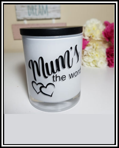 Amber Grove - Scented Soy Wax Candles - Mum's the Word