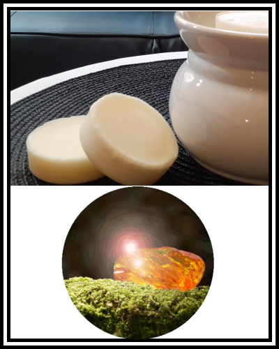 Amber Grove - Scented Soy Wax Melts - Oakmoss & Amber Fragrance