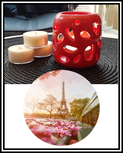 Amber Grove - Scented Soy Wax Tealight Candle - Parisian Pear