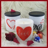 Amber Grove - Valentine's Day Soy Wax Candle Collection