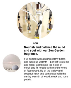 Mini Car Diffuser - Zen Fragrance - Amber Grove