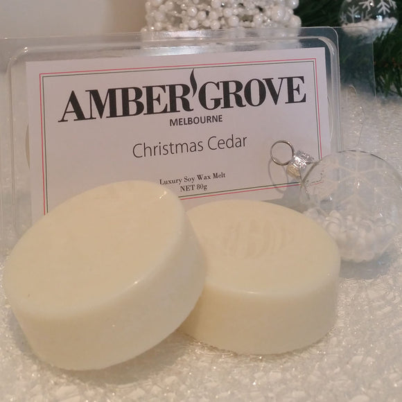 Soy Wax Melts - Nordic Spruce Fragrance - Amber Grove