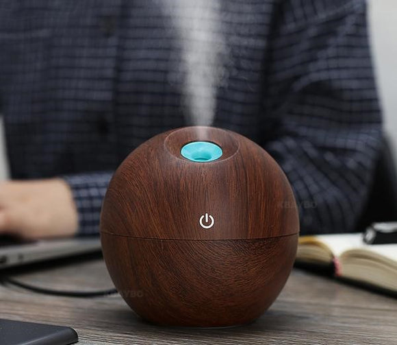 Aroma Essential Oil Ultrasonic  Diffuser/Air Humidifier -130ml - Amber Grove