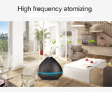 Aroma Essential Oil Ultrasonic  Diffuser/Air Humidifier - Wood-grain - Amber Grove