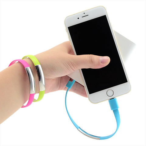 Phone Charger Bracelet iPhone/Android