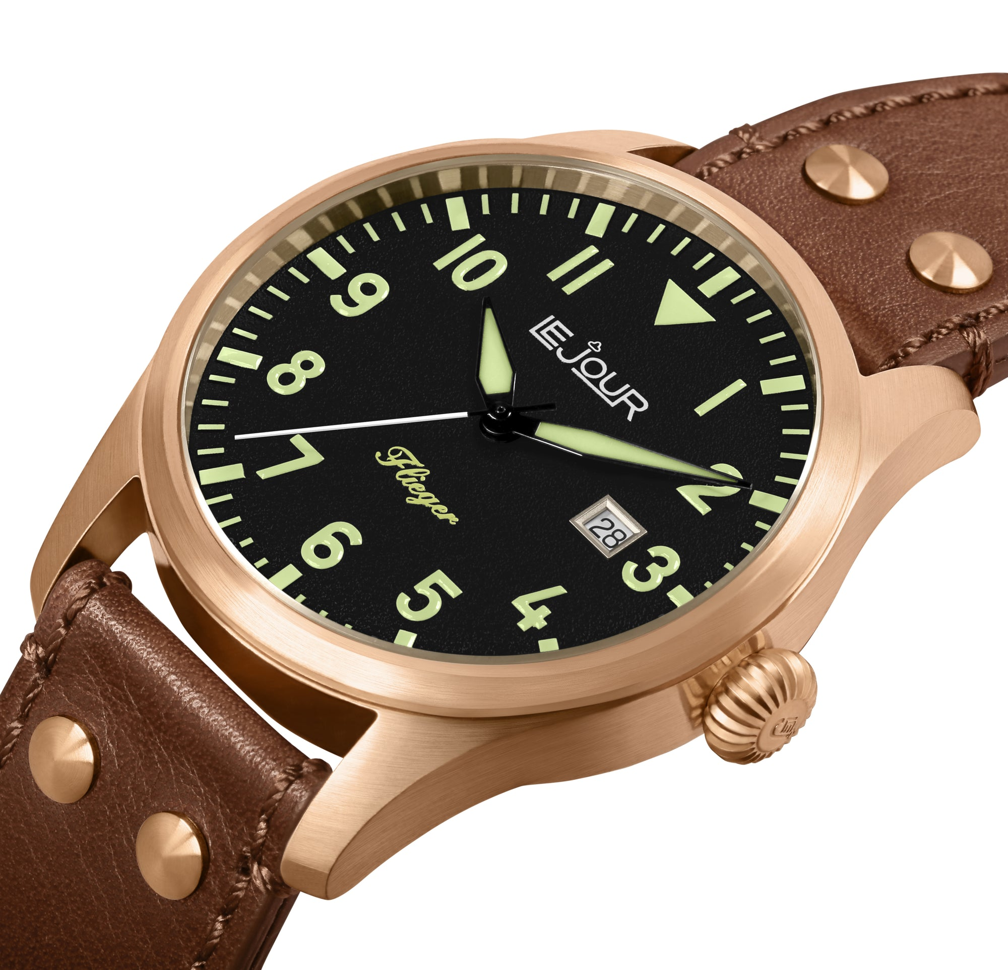 LE JOUR FLIEGER PILOT WATCH