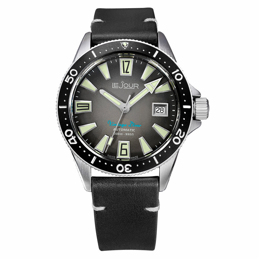 Vintage Diver Le Jour Watches