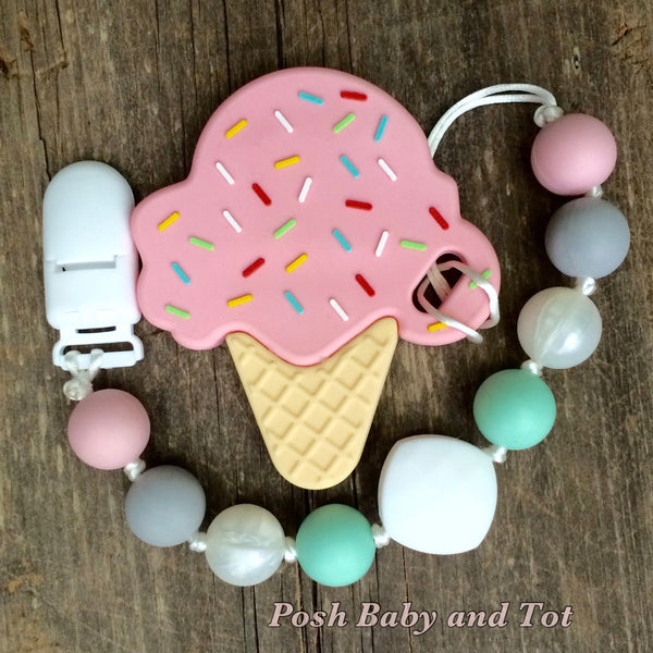 Ice Cream Teether - Perfectly Pastel!