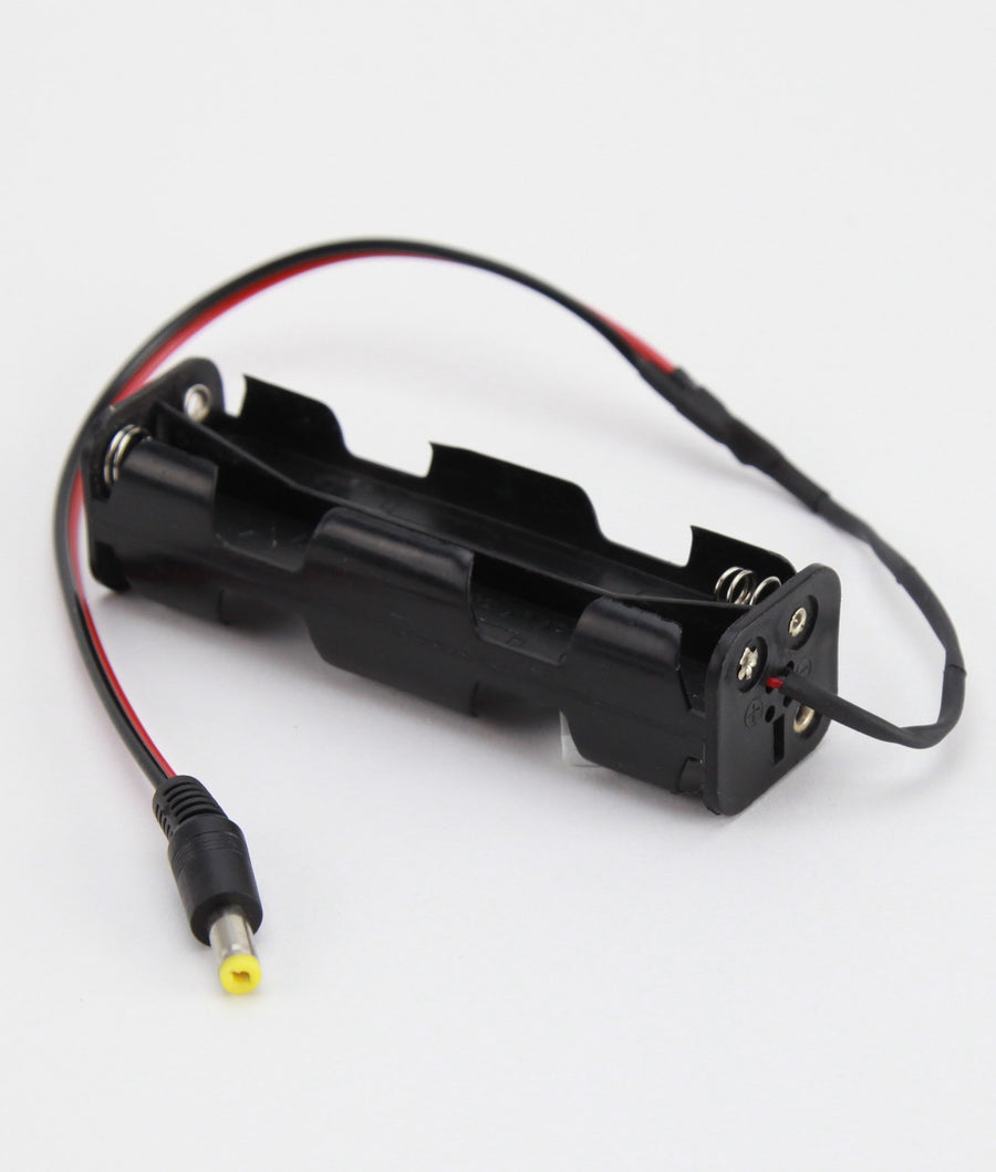 12V Battery Holder | 8AA battery with 9V Clip