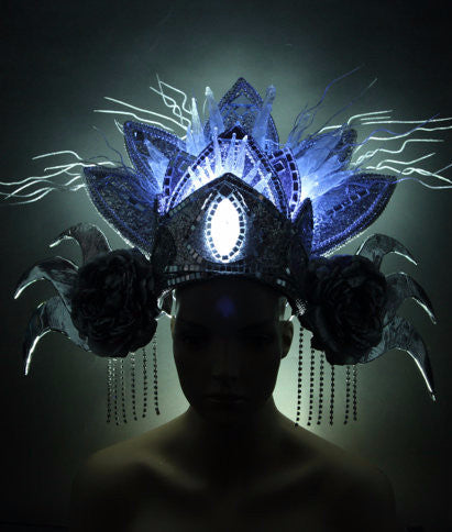 Bali Ice Queen Glowing LED Headpiece