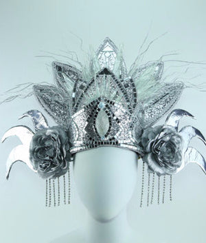 Bali Ice Queen - LED Headdress - Bali Inspired Glowing Headpiece