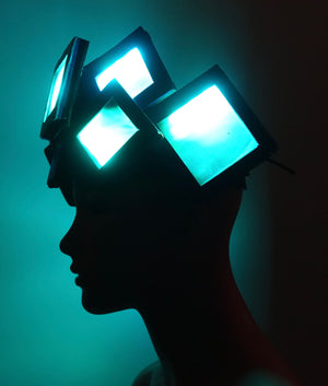 Geometric Shapes LED Headpieces - MTO