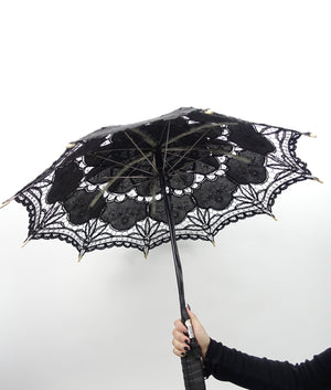 Color Changing L.E.D. Parasol | Black or White umbrella