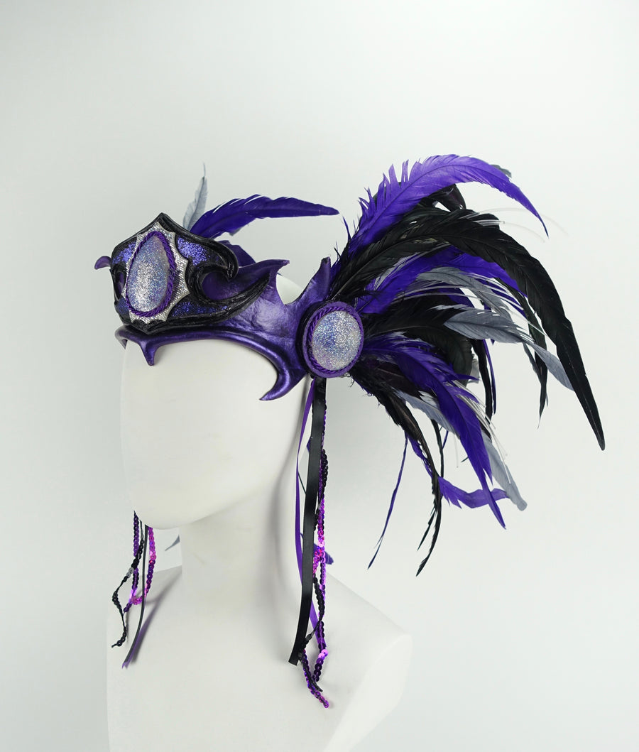 Light Up Headdress - MTO Illuminated Warrior