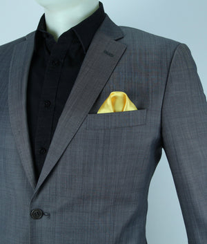 Gold Glow LED Pocket Square Solid Color