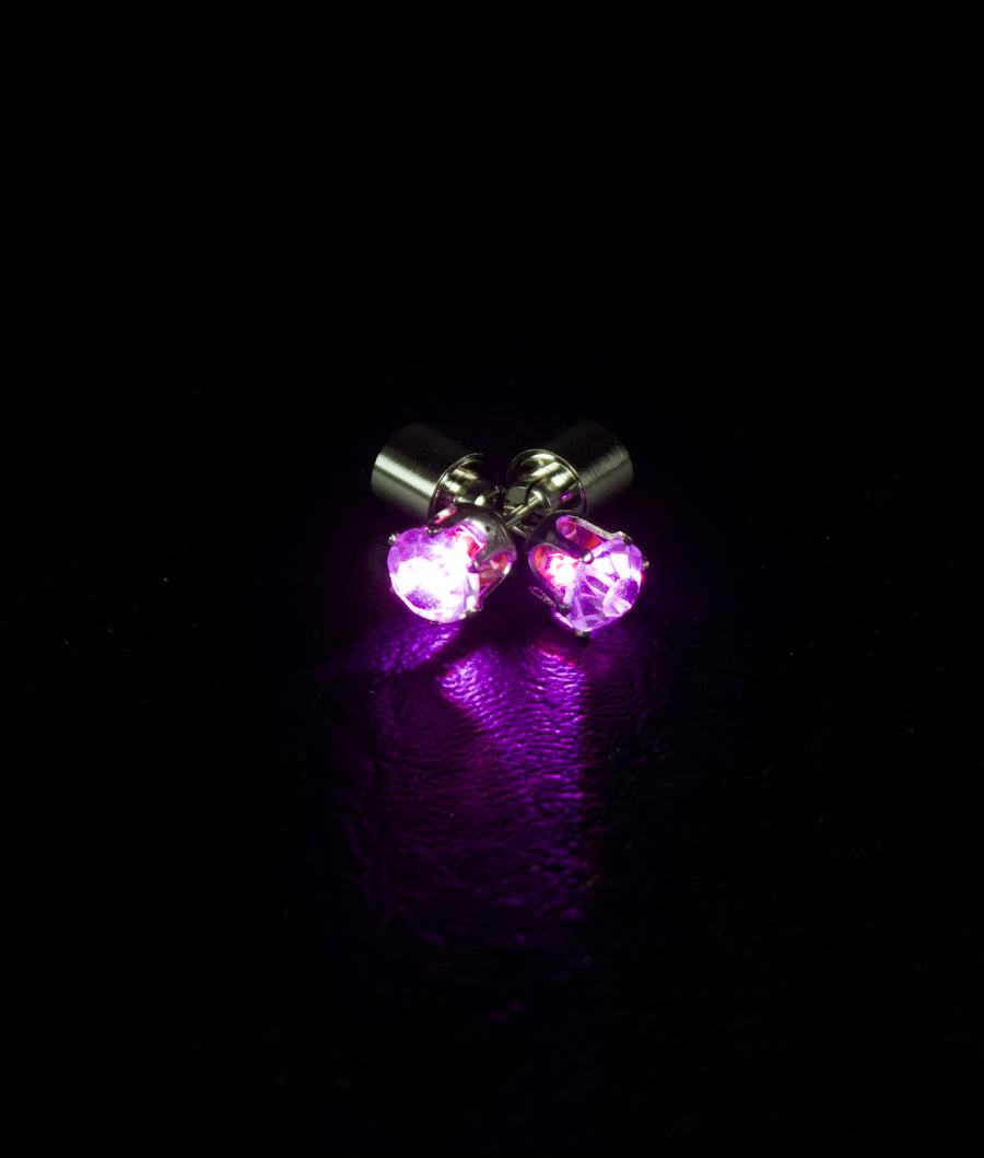 LED Earrings | Glowing Crystal Stud earring