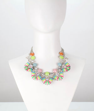 The Party Princess | multi-color LED necklace