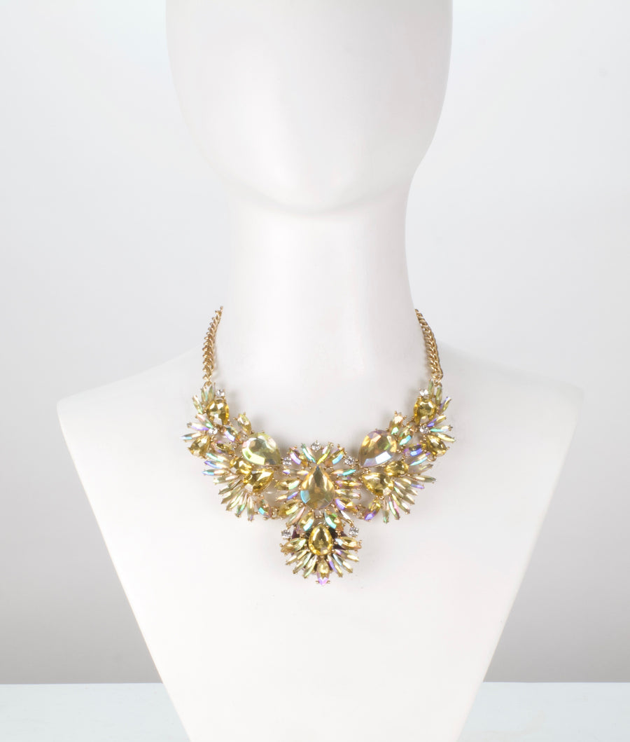 The Heiress Gold glowing necklace