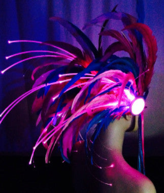 Warrior Design Light Up Headdress - Made to Order