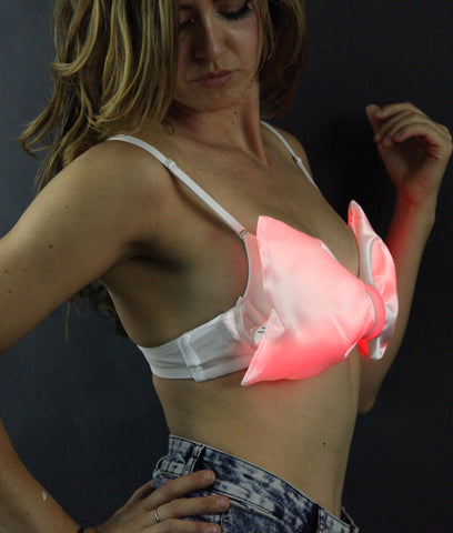 Color Changing Light Up LED Bow Top Bandeau