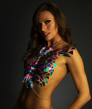 Light Up Body Chain - Priestess LED Jewelry