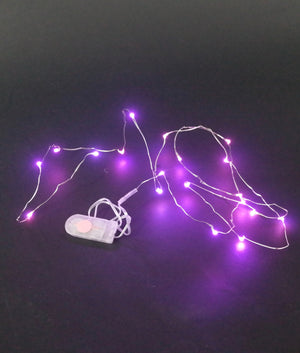 20 LED String - 2 coin cell battery