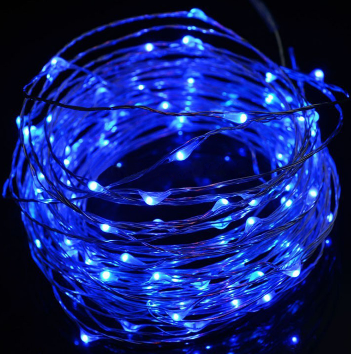 100 LED string - Three AA battery Powered