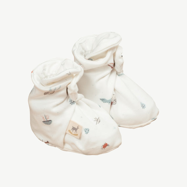 'deep findings' eco white booties