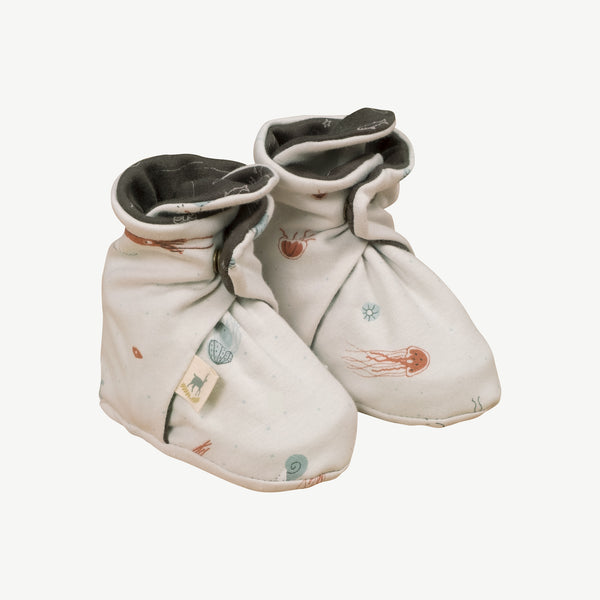 'deep findings' glacier grey booties